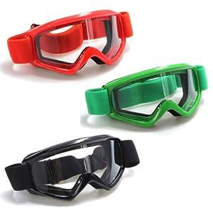 T815-39 Lunettes Goggles Protection Moto Vélo Motocross Enduro Ski Airsoft Sport