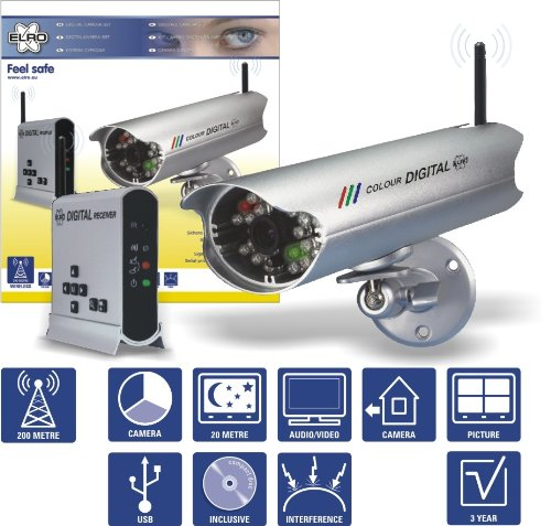 Elro-C950D-Kit-cmara-digital-con-seal-encriptada