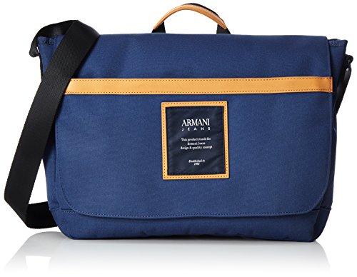 Armani Jeans 9321217P914 Herren Umhängetaschen 9x27x36 cm (B x H x T), Blau (BLU NAVY 06935)