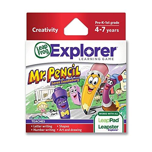 Imagen 4 de Leapfrog Leapster Explorer - Juego Sr. Lápiz para aprender a escribir (solo para Leapster Explorer)