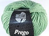 Lana Grossa Prego freie Farbwahl Wolle Baumwolle Schurwolle (16 - Grasgrün)