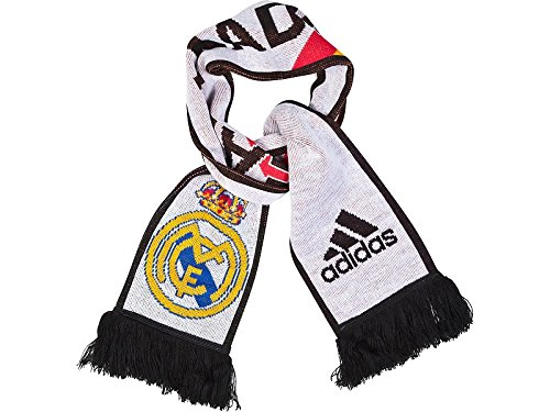 2014-2015 Real Madrid Adidas 3 Stripe Scarf (White)