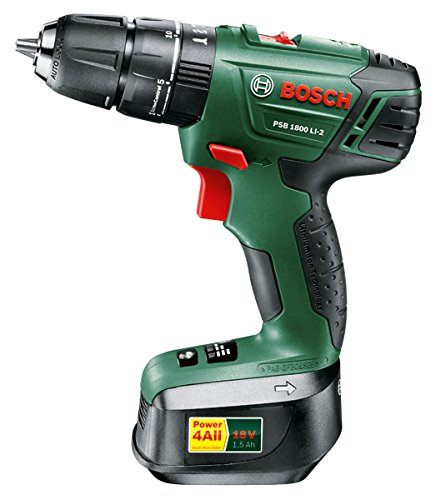 bosch psb 1800 li 2 lithium ion cordless combi hammer impact drill 18v li naked bare version. Black Bedroom Furniture Sets. Home Design Ideas
