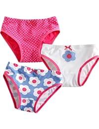 Vaenait baby 86-122 Maedchen Unterhosen 3 Stueck in Einer Packung Unterwaesche Daisy