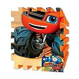 Alfombra puzzle Blaze and the Monster Machines goma EVA