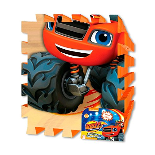Suelo puzzle Blaze and the Monster Machines goma EVA