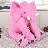 Misslight Elephant Kissen Nettes Tier Elefant Kissen aus Neuheit Plüsch weiches Spielzeug für Dekoration, Geschenke für Kinder Baby Plüschtiere PP Baumwolle (Rosa)