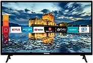 Telefunken XH32J511 32 Zoll Fernseher (Smart TV inkl. Prime Video / Netflix / YouTube, HD ready, Works with Al