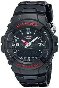 Casio G-100-1BVMUR G-Shock Combi Resin Strap Watch - Black