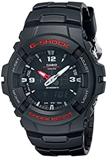 Casio G-100-1BVMUR G-Shock Men Watch, Black (B000AR7S3A) | Amazon Products