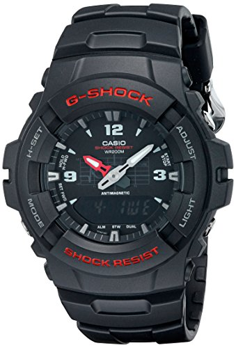 Casio G-100-1BVMUR G-Shock Men Watch, Black