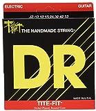 DR Strings TITE-FIT 12-52 Jeu de Cordes pour Guitare Electrique