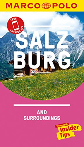 Salzburg Marco Polo Pocket Travel Guide 2018 - with pull out map (Marco Polo Pocket Guides) por Marco Polo