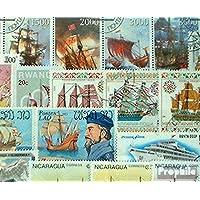 Prophila sellos para coleccionistas: motivos 50 diferentes de barcos y barcos sellos
