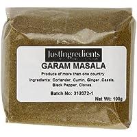 JustIngredients Essential Garam Masala - 5 Paquetes de 100 gr - Total: 500 gr