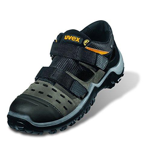 Chaussure de Sécurité UVEX Athletic PRO Sandale S1 ESD Gris Gris