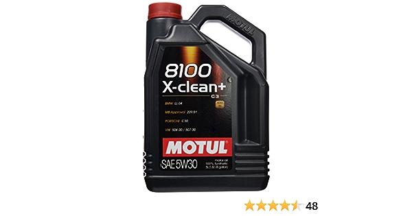 5 Liter Motul X Clean C3 Sae 5w30 Auto