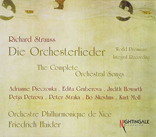Strauss: Complete Orchestral Songs