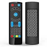Mini tastiera wireless e telecomando con fly mouse, un telecomando multifunzionale per il tuo Amazon Fire TV box/fuoco TV stick/Fire TV cubo, Android TV box, HTPC, mini PC/PS3/PS4/Xbox 360 - ideale per la scrittura.Remote controller - vi forn...