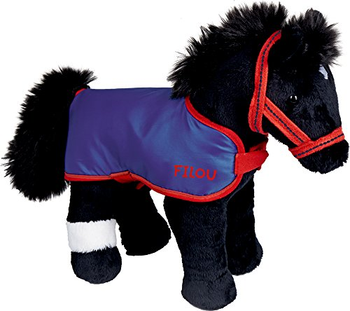 Peluche cavallo colore: nero (dimensioni: ca. 30cm)