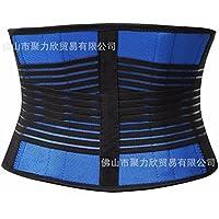 HL-aire CORREA CORREA MOVIMIENTO movimiento cinturón de plástico con abdomen cerrado,blue,XXL