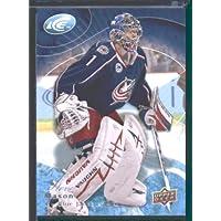 2009 10 Upper Deck Ice Hockey Card # 77 Steve Mason Blue Jackets