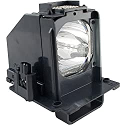 Amazing Lamps Compatible Replacement Lamp in Housing for Mitsubishi Televisions:WD60638