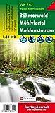 Böhmerwald - Mühlviertel - Moldaustausee, Wanderkarte 1:50.000, WK 262, freytag & berndt Wander-Rad-Freizeitkarten - Freytag-Berndt und Artaria KG