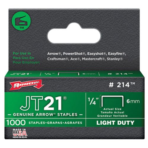arrow-staples-jt21-box-1000-1-4-in