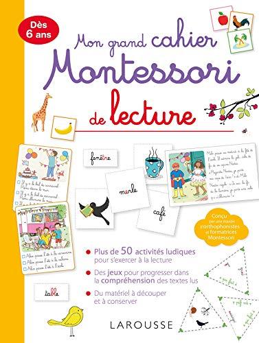 Mon grand cahier Montessori de lecture par Anaïs Galon