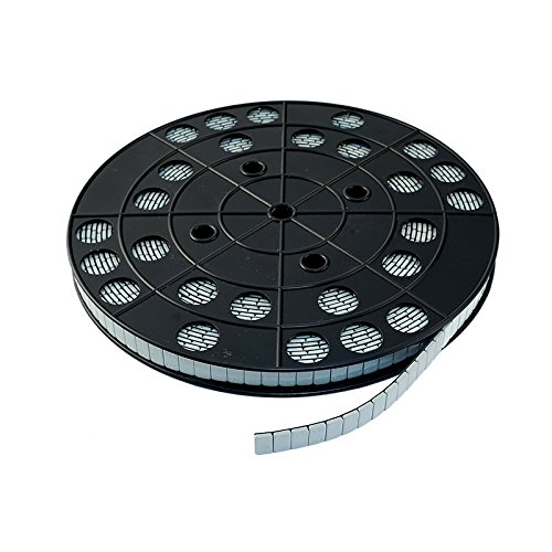 Auswuchtgewichte PKW Klebegewichte Alufelgen Rolle Stahl (Fe) Std. h=4mm b.19mm 6Kg (1200x5g) Made in EU 1200 Stück 6000g (grau/silber)