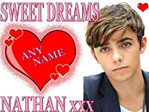 THE WANTED NATHAN SYKES PILLOWCASE
