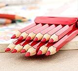 Colore rosso   Dimensioni: circa: 17,5 cm   Materiale: Legno   Nota:   Poiché la dimensione sopra è misurata a mano, la dimensione dell'articolo reale che hai ricevuto potrebbe essere leggermente diversa dalla dimensione sopra.   Adatto solo per b...