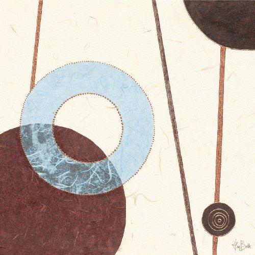 Eurographics ABU1104 Alan Buckle, Clock Chime 30 x 30 cm, Hochwertiger Kunstdruck -