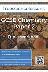 Freesciencelessons GCSE Chemistry Paper 2: Triple Workbook Paperback