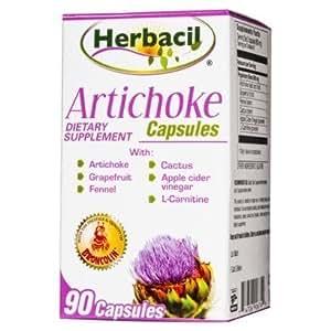 Herbacil Artichoke 90 Cp by Herbacil