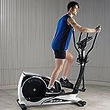 BH Fitness Crosstrainer Ellipsentrainer CRYSTAL-18 kg Schwungmasse-bis 150 kg Nutzergewicht-Pulsprogramme-Wattprogramm-24 Widerstandsstufen-G2381 - 5