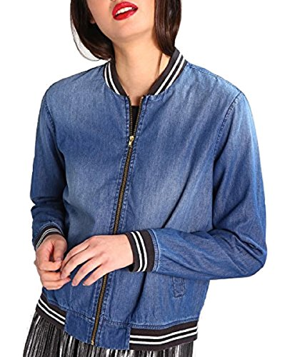 JDYJDYCHANTEL - Bomberjacke - medium blue denim