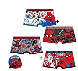 Lot de 2 Boxers Enfant SPIDER-MAN Couleurs Assorties !!! HQ3017 (2-3 ans)