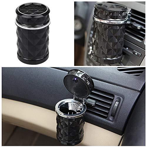 Kent Marks lusso accessori auto LED portatile auto posacenere sigaretta cilindro Holder