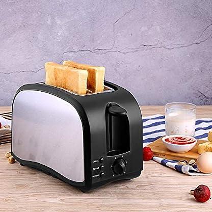 CUSIBOX-Edelstahl-Toaster-2-Scheiben-Toaster-mit-6-Brunungsstufen-Breite-Schlitze-Abnehmbare-Krmelschublade-Auftau-Reheat-Funktionen-800W