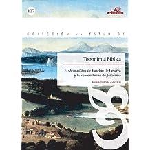Toponimia Bíblica (Colección de Estudios)