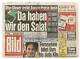 Bild Zeitung als Geschenk Zum 18. Geburtstag - Zeitung vom Tag der Geburt - Geburtstagszeitung