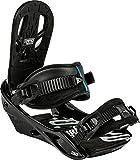 Nitro Snowboards Herren Snowboard-Bindung Staxx BDG 15, Black, M, 1151836306