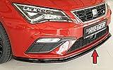 Rieger Frontspoilerschwert schwarz glänzend für Seat Leon FR (5F)/ Cupra (5F): 01.17- (ab Facelift)