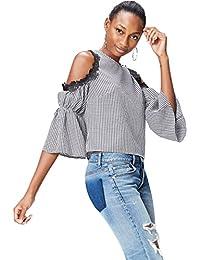 find. Women's Lace Detail Blouse 3/4 Sleeve Blouse