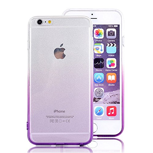 iPhone 7 Plus Case Protective, Soft Silicone Ultra Thin Impact Resistant Case Cover for iPhone 7 Plus Color-D