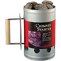 Compañero de carbón para chimenea, plata, 16,79 x 27,1 x 27,51 cm