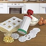 GOURMETmaxx Nudelmaschine Express Pasta Set 10-TLG.mit Rezeptheft