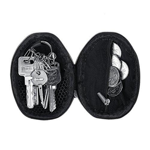 xhorizon TM MSH 1000D Universel polyvalent Poche Étui Sacoche de ceinture pour téléphone à dimension supérieure tactique MOLLE randonnée camping voyage pour accessoires outils avec boucle de ceinture A Noir